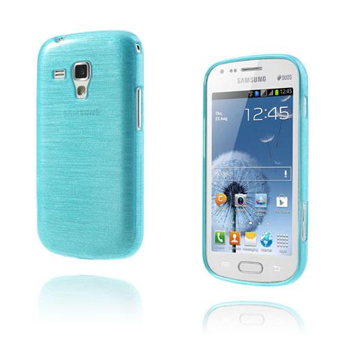 Scratch (Blå) Samsung Galaxy Trend Skal