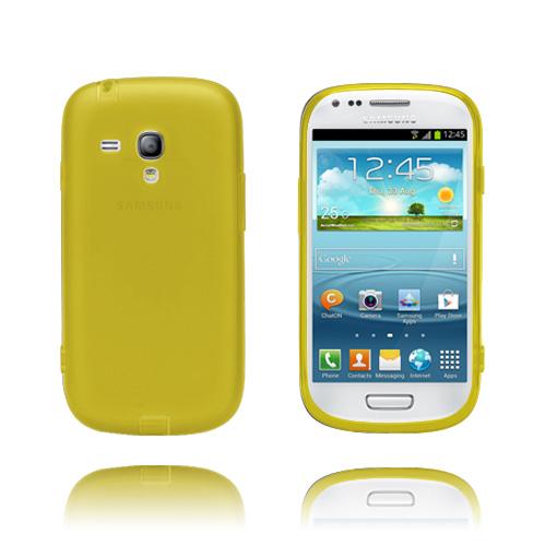 GelCase (Gul) Samsung Galaxy S3 Mini Skal