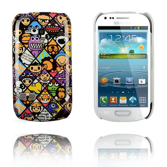 Pictorix (Cartoon Faces) Samsung Galaxy S3 Mini Skal