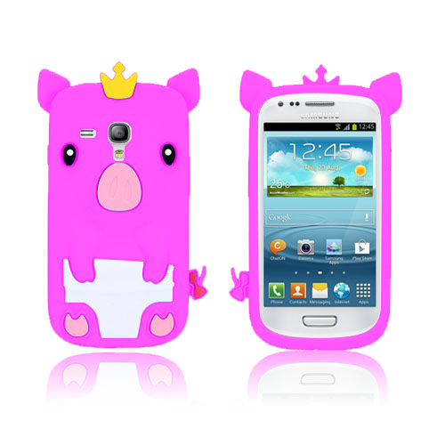 Piggy (Rosa) Samsung Galaxy S3 Mini Skal