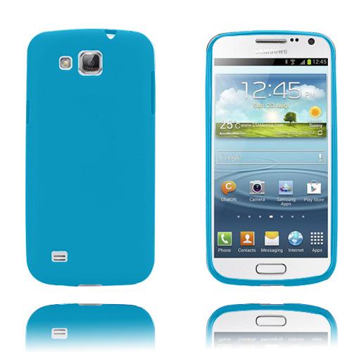 GelCase (Turkos) Samsung Galaxy Premier Skal