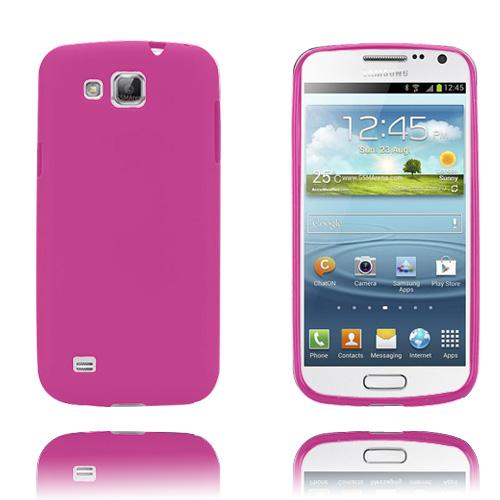 GelCase (Knallrosa) Samsung Galaxy Premier Skal