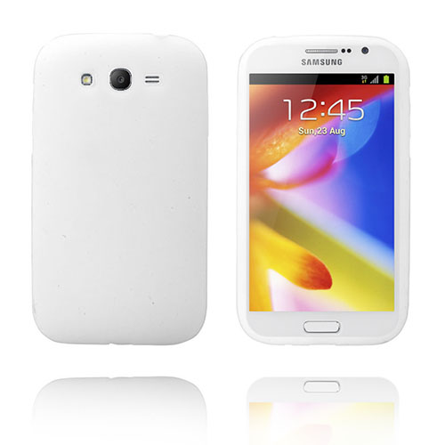 Soft Shell (Vit) Samsung Galaxy Grand Duos Skal
