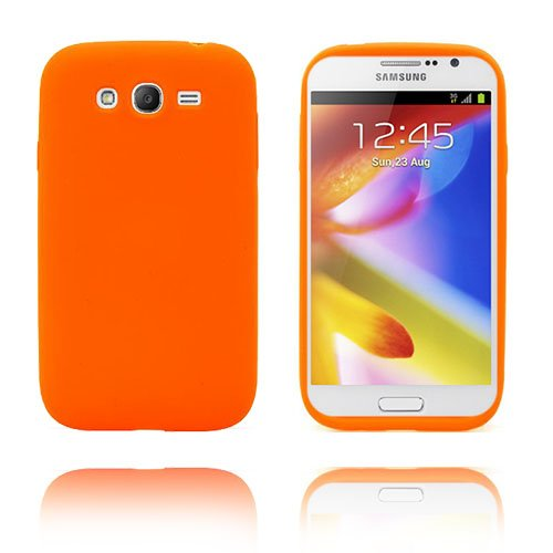 Soft Shell (Orange) Samsung Galaxy Grand Duos Skal