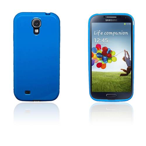 Soft Shell (Blå) Samsung Galaxy S4 Skal