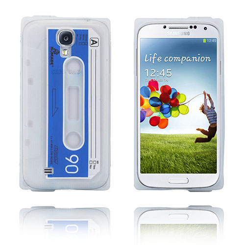Cassette Tape (Transparent) Samsung Galaxy S4 Skal