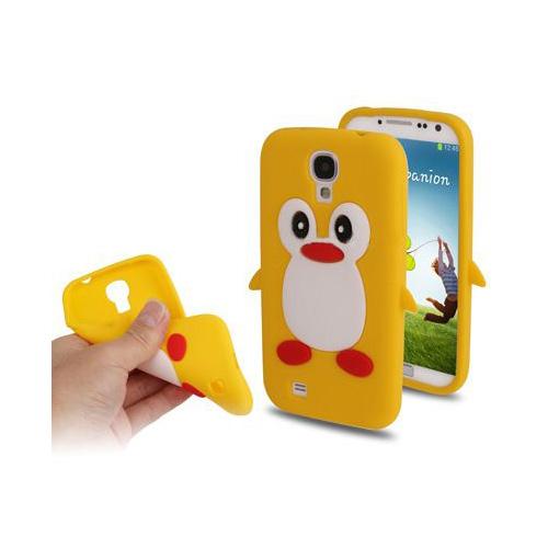 Penguin (Gul) Samsung Galaxy S4 Skal