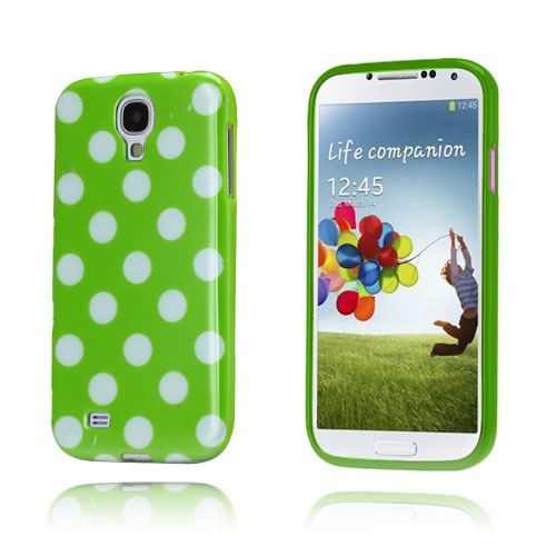 Polka Dots (Grön) Samsung Galaxy S4 Skal