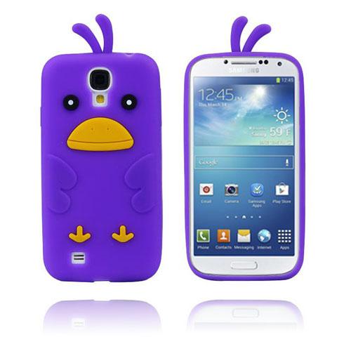 Funny Chicken (Lila) Samsung Galaxy S4 Skal