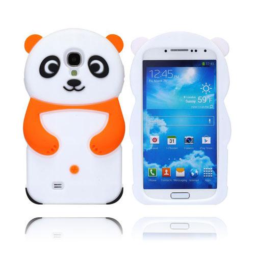 Panda (Orange) Samsung Galaxy S4 Skal