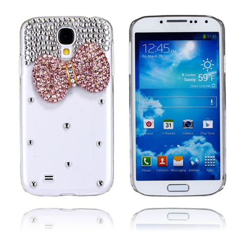 Luxury Bling (Rosa Rosett) Samsung Galaxy S4 Skal