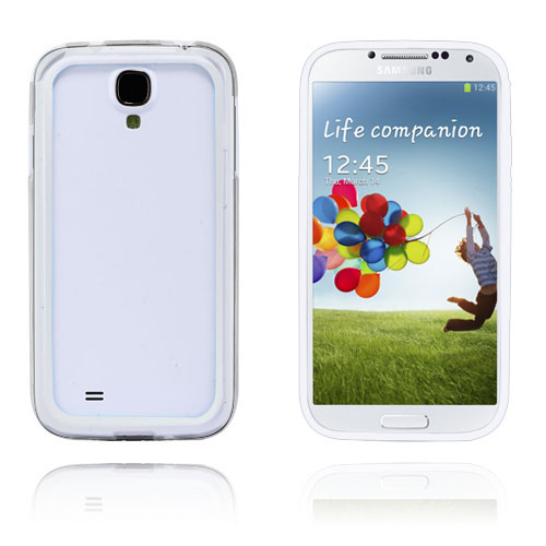 Anti-Stöt (Transparent) Samsung Galaxy S4 Bumper