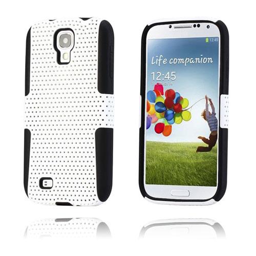 Safe-Zone (Vit) Samsung Galaxy S4 Hybridskal