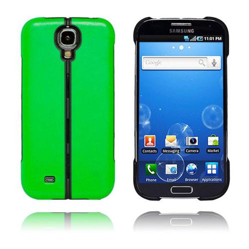 Folding (Grön) Vikbart Samsung Galaxy S4 Hårdskal