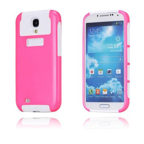 Surfer (Rosa / Vit) Samsung Galaxy S4 Skal