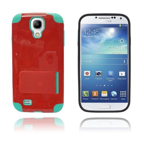 Traveller (Röd / Grön) Samsung Galaxy S4 Skal