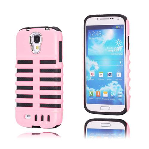 Mic (Rosa) Tvålagrat Samsung Galaxy S4 Skal