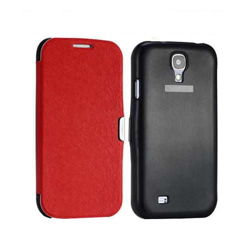 Orbit (Röd) Samsung Galaxy S4 Flipskal