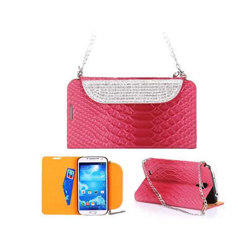 BlingBag (Het Rosa) Samsung Galaxy S4 Fodral