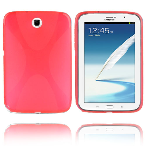 X-line (Röd) Samsung Galaxy Note 8.0 Skal