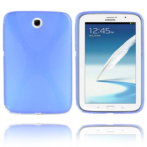 X-line (Ljusblå) Samsung Galaxy Note 8.0 Skal
