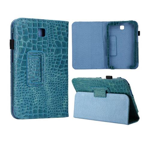 Croco (Blå) Samsung Galaxy Note 8.0 Läderfodral