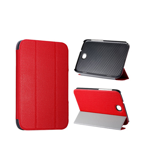 Smart Skal (Röd) Samsung Galaxy Note 8.0 Läderfodral