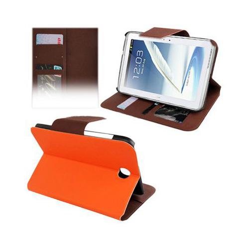 Modern (Orange) Samsung Galaxy Note 8.0 Läderfodral