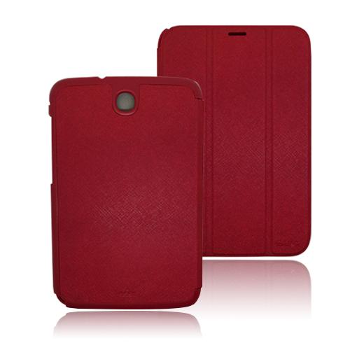 Pinstripe (Röd) Samsung Galaxy Note 8.0 Vikbart Stativ