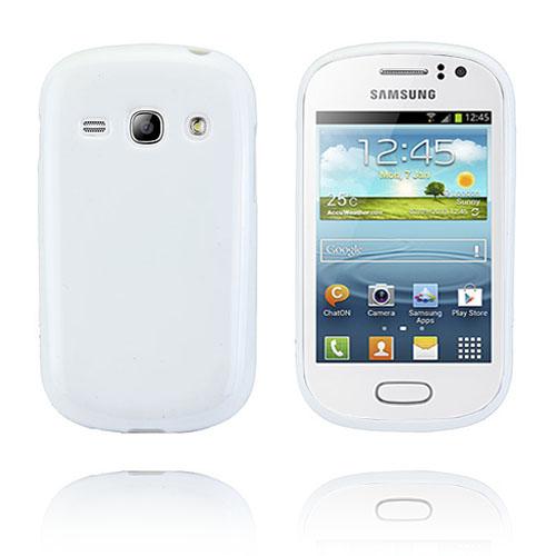 GelCase (Vit) Samsung Galaxy Fame Skal