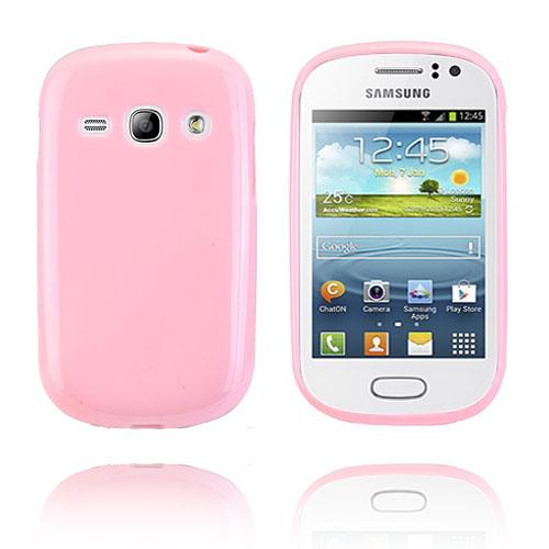 GelCase (Ljusrosa) Samsung Galaxy Fame Skal