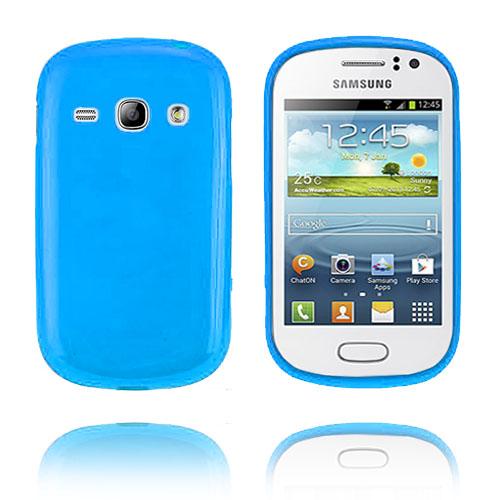 GelCase (Blå) Samsung Galaxy Fame Skal