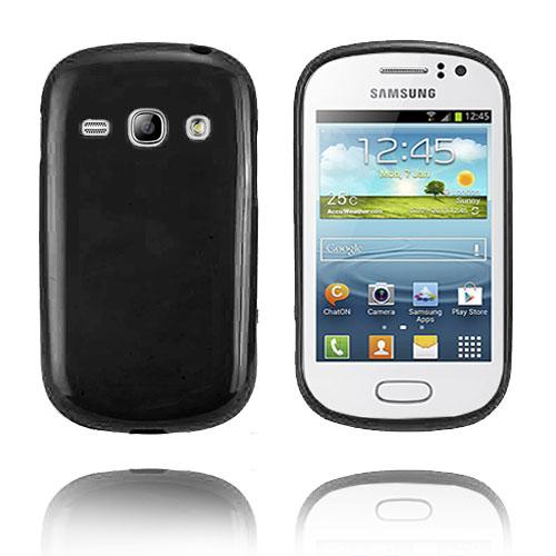 GelCase (Svart) Samsung Galaxy Fame Skal