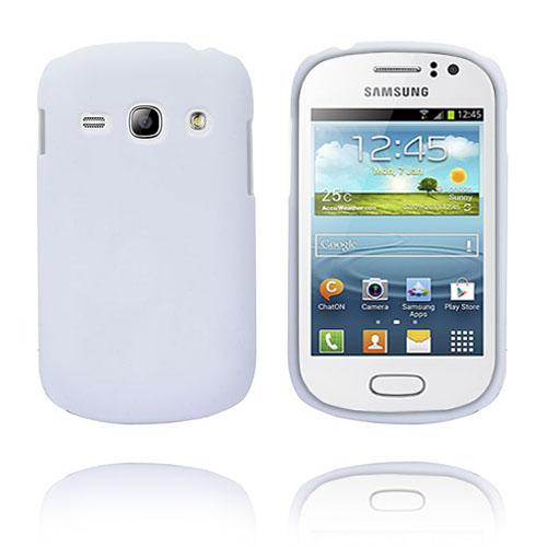 Hard Shell (Vit) Samsung Galaxy Fame Skal
