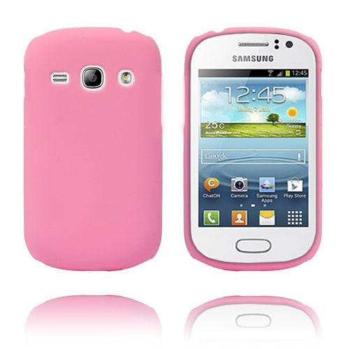 Hard Shell (Ljusrosa) Samsung Galaxy Fame Skal