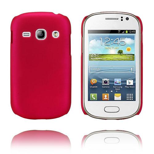 Hard Shell (Knallrosa) Samsung Galaxy Fame Skal