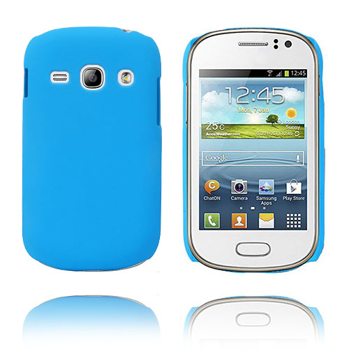 Hard Shell (Ljusblå) Samsung Galaxy Fame Skal