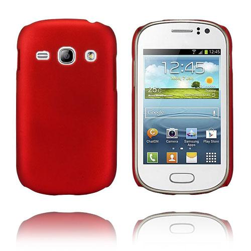 Hard Shell (Röd) Samsung Galaxy Fame Skal