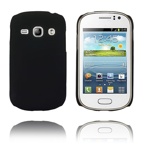 Hard Shell (Svart) Samsung Galaxy Fame Skal