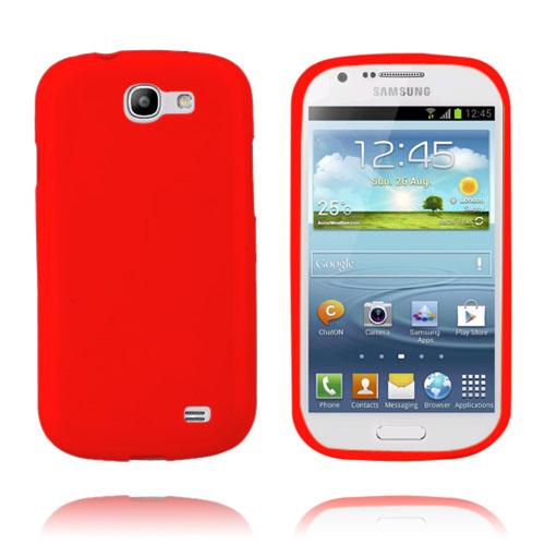 GelCase (Röd) Samsung Galaxy Express Skal