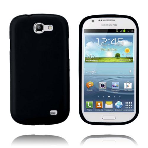 GelCase (Svart) Samsung Galaxy Express Skal