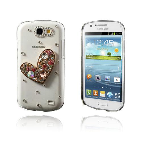 3D Bling (Hjärta) Samsung Galaxy Express Skal
