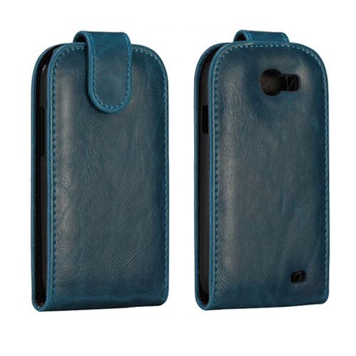 Wall Street (Mörkblå) Samsung Galaxy Express Läderfodral