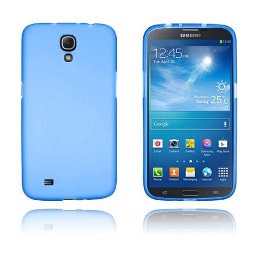 GelCase (Blå) Samsung Galaxy Mega 6.3 Skal
