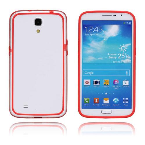 ClearBumper (Röd) Samsung Galaxy Mega 6.3 Bumper
