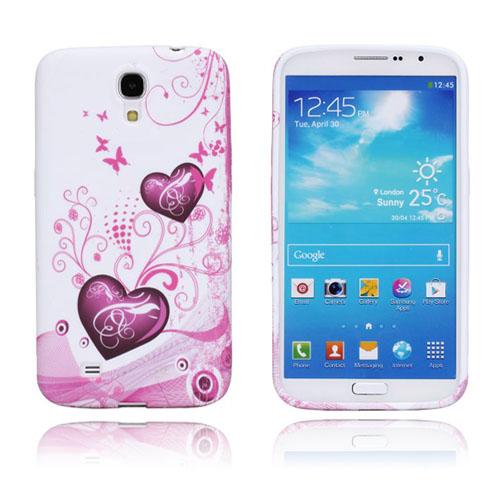 Symphony (Rosa Hjärtan) Samsung Galaxy Mega 6.3 Skal