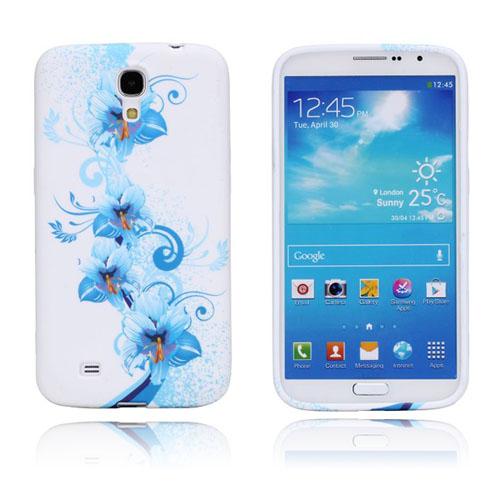 Symphony (Blå Blommor) Samsung Galaxy Mega 6.3 Skal