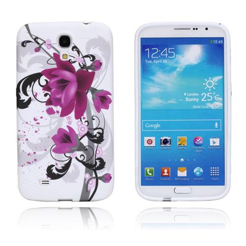 Symphony (Lila Blommor) Samsung Galaxy Mega 6.3 Skal