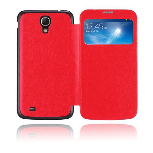 Back Flip (Röd) Samsung Galaxy Mega 6.3 Fodral