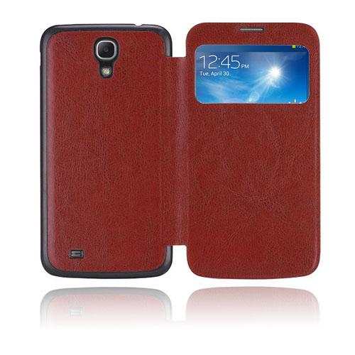 Back Flip (Brun) Samsung Galaxy Mega 6.3 Fodral